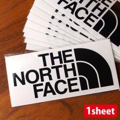 ノースフェイス THE NORTH FACE TNFカッティングステッカー TNF CUTTING STICKER (NN88106 SS20) ロゴステッカー K ブラック ブラック系【メール便対応】