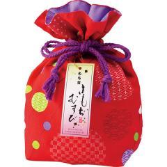 (※期日指定4月14日まで) きもちむすび 巾着袋(赤)