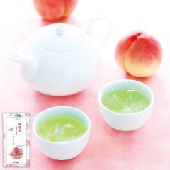 (※期日指定9月30日まで)【通販限定】桃香る水出し緑茶ティーバッグ