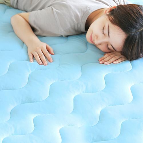 ecool 接触冷感敷きパッド 100×200