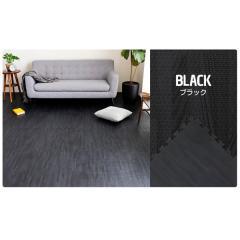 <LOHACO> ジョイントマット 木目調 ノーマルタイプ(10mm) ブラック