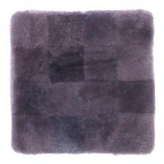 ムートンクッション 淡色 40×40 深紫 日本製 シートクッション 座布団【5%OFFクーポン利用可能】【コード:CP34TSW】