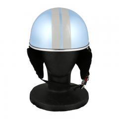 XEAM純正 ハーフヘルメット ライトラベンダー notte フリーサイズ 耳あて着脱可能 SG規格適合 PSCマーク付き XEAM notte メットイン収納可能 排気量125cc以下 バイクヘルメット 防災