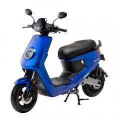 niu M+ エムプラス 電動バイク ブルー EVスクーター 原付2種 第二種原動機付自転車 EVバイク 電動スクーター 公道走行可能 街乗り XEAM