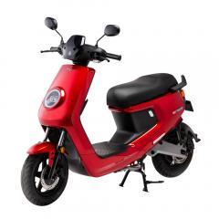 niu M+ エムプラス 電動バイク レッド EVスクーター 原付2種 第二種原動機付自転車 EVバイク 電動スクーター 公道走行可能 街乗り XEAM
