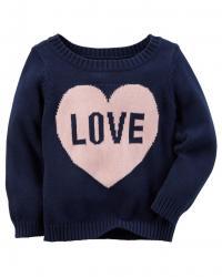 235G54824 Carter's カーターズ セーター LOVE (24M)