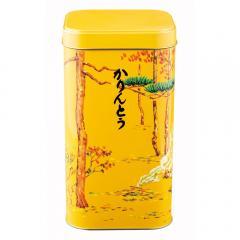 10%OFFクーポン対象商品 新宿中村屋 黒かりんとう角缶【かりんとう・黒糖・ギフト】 クーポンコード:KWDYK7W