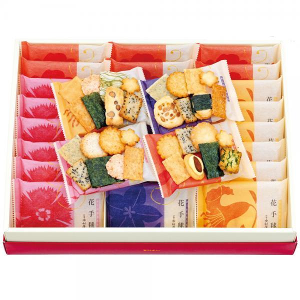 新宿中村屋 おこのみあられ花手毬 4号28袋入【あられ・せんべい・米菓ギフト】