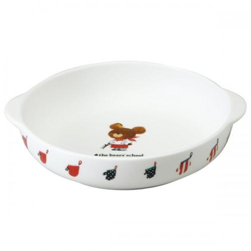 ナルミ(NARUMI)くまのがっこう グラタン皿(小) 17cm(41002-3642)