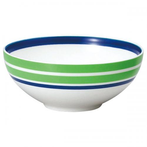 ナルミ(NARUMI)Day+ ボウル(グリーン&ブルー) 13cm(41670-3902)