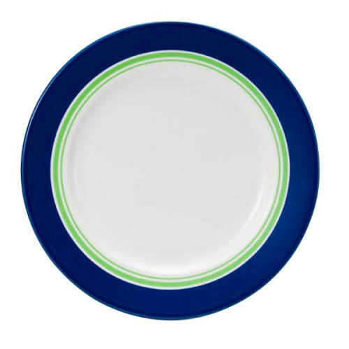 ナルミ(NARUMI)Day+ プレート(グリーン&ブルー) 24cm(41670-85008)