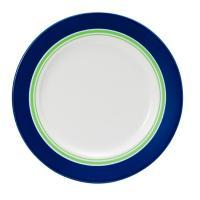 期間限定【Tポイント10倍】ナルミ(NARUMI)Day+ プレート(グリーン&ブルー) 24cm(41670-85008)
