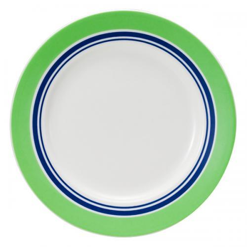 ナルミ(NARUMI)Day+ プレート(グリーン&ブルー) 19cm(41670-85009)