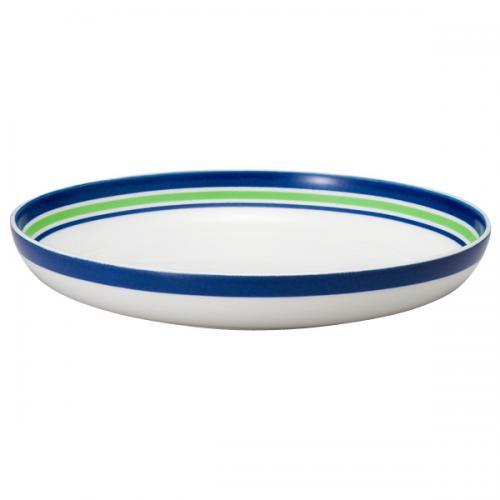 ナルミ(NARUMI)Day+ パスタプレート(グリーン&ブルー) 21cm(41670-85010)