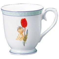 ナルミ(NARUMI)いわさきちひろ マグカップ(チューリップとあかちゃん) 290cc(50428-2635)