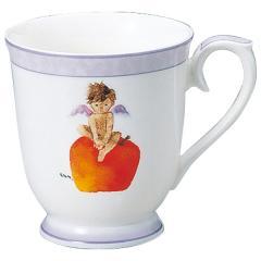 ナルミ(NARUMI)いわさきちひろ マグカップ(りんごと天使) 290cc(50434-2635)