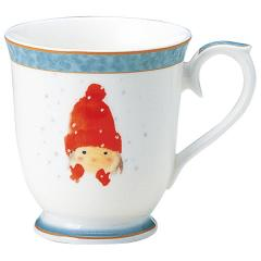 ナルミ(NARUMI)いわさきちひろ マグカップ(赤い毛糸帽の女の子) 290cc(50442-2635)