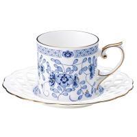 期間限定【Tポイント10倍】ナルミ(NARUMI)ミラノ メッシュコーヒーカップ&ソーサー(1客) 160cc(9682-20893)