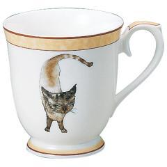 ナルミ(NARUMI)いわさきちひろ マグカップ(碧い目の黒猫) 290cc(50433-2635)