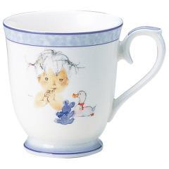 ナルミ(NARUMI)いわさきちひろ マグカップ(アヒルとクマとあかちゃん) 290cc(50675-2635)