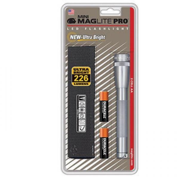 マグライト ミニマグライトLED RRO SP2P09H グレー