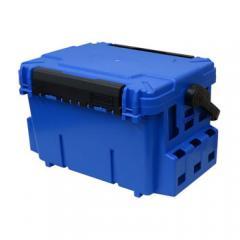 メイホウ タックルボックス バケットマウスBM-7000  28L  ブルー