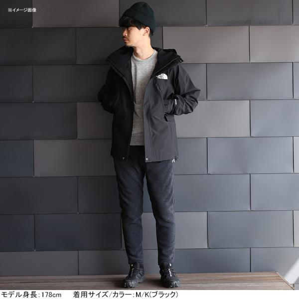 ザ・ノースフェイス アウトドアジャケット MOUNTAIN JACKET(マウンテン ジャケット) Men's  M  K(ブラック)
