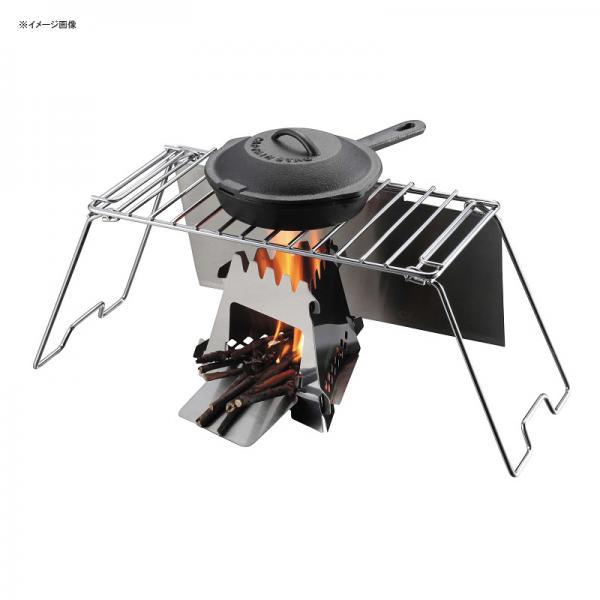 キャプテンスタッグ BBQ・七輪・焚火台 グリルスタンド テーブル(風防付き)
