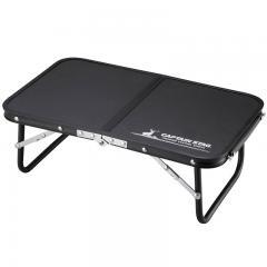 キャプテンスタッグ アウトドアテーブル FDハンドテーブル47×30   ブラック
