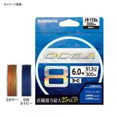 シマノ ルアー釣り用PEライン LD-A71S オシア8 300m 4.0号 5カラーの画像