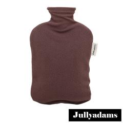 Jullyadams×ファシー 湯たんぽ フリースカバー付き エコ あったか 水まくら 水枕 あんか fassy ブラウン