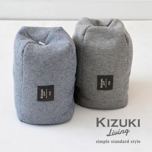 ゆる寝ビーズ枕 スウェット 【日本橋布団店】 【KIZUKI Living】 ブルー