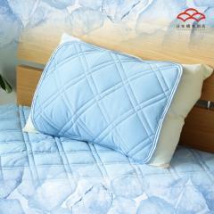 ひんやりマット 強冷感まくらパッド スーパークール Q-max値0.5 シングルサイズ 抗菌防臭・高通気・ムレにくく快適な夏用枕パッド
