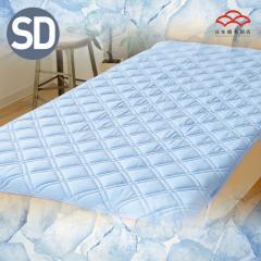 ひんやりマット 強冷感敷きパッド スーパークール セミダブルサイズ Q-max値0.5 セミダブルサイズ 抗菌防臭・高通気・ムレにくく快適な夏用敷きパッド