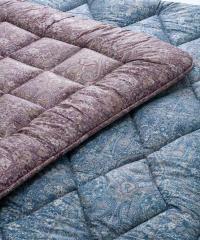 【送料無料】 【昭和西川】 ジェミール 羊毛敷き布団 2.5kg GE6901 シングル 100×210cm BL