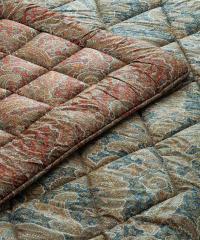 【送料無料】 【昭和西川】 ジェミール 羊毛敷き布団 2.0kg GE6902 シングル 100×200cm BL