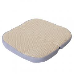 ムアツクッション ポータブル/MUC01 3.5×35×35cm ムアツ 体圧分散 BE 在宅 テレワーク 巣ごもり おこもり 昭和西川 フィット感 分散 リラックス 負担 軽減 子供 こども Polygiene ポリジン 抗菌 防臭 送料無料