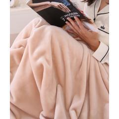 ニューマイヤー毛布 Sサイズ シングル 140×200cm ネットオリジナル ソリッド BE 快眠 昭和西川