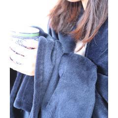 ニューマイヤー毛布 Sサイズ シングル 140×200cm ネットオリジナル ソリッド NV 快眠 昭和西川