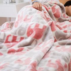 ニューマイヤー毛布 エレファント シングル 140×200cm PK CUORE クオーレ 直販オリジナル 限定商品 毛布 ブランケット ケット 昭和西川 50%OFF済み アウトレット 数量限定