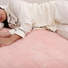 フランネル敷きパッド Dサイズ ダブルサイズ 140×205cm ネットオリジナル PK 敷きパッド シキパッド しきぱっど あたたか 快眠 昭和西川