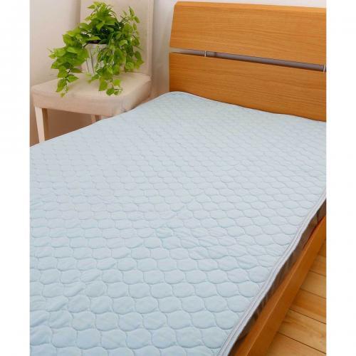 冷感パッドシーツ セミダブル 120×205cm ひんやり クール寝具 送料無料 昭和西川