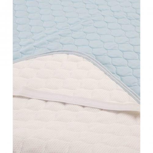 冷感パッドシーツ シングル 100×205cm ひんやり クール寝具 [送料無料] [昭和西川]