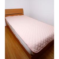 【昭和西川】 綿シンカーパイル さらさら敷きパッド シングル 100×205cm PK