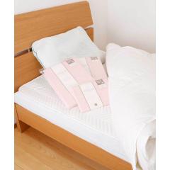 オリジナル寝具6点セット(ベッドパッド、羽毛布団、まくら、BOXシーツ、掛けふとんカバー、ピロケース) ベーシック ベッドパッドタイプ PK ふとん 布団 新生活 [送料無料] [昭和西川] [日本製]