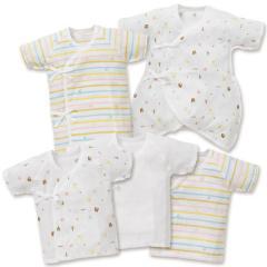 5316afca78db6 5枚組新生児ガーゼ肌着セット(北欧柄) 新生児50-60cm  5枚組新生児ガーゼ肌着セット(北欧柄) 新生児50-60cm  LOHACO
