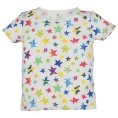 [EFD]カラフル星総柄半袖Tシャツ  90