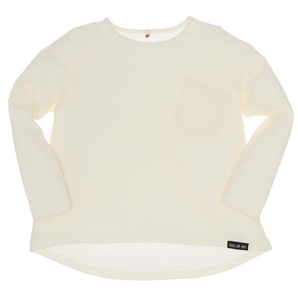 9f7686a78dec37 LOHACO - [EFD]胸ポケット付き無地ドロップショルダー長袖Tシャツ ...
