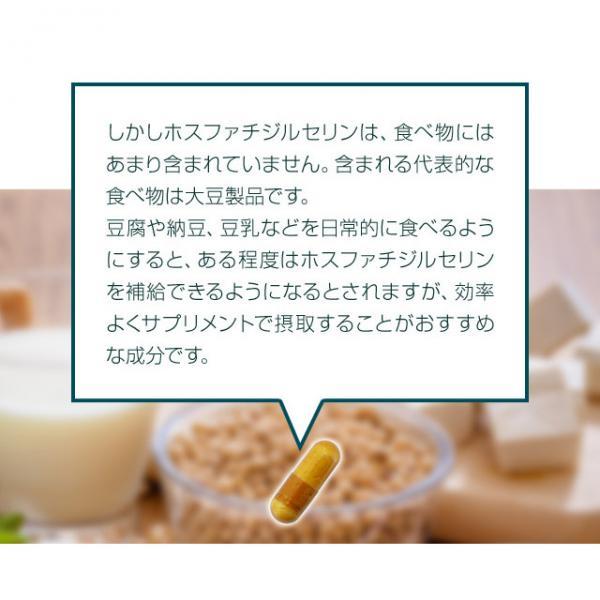 送料無料 ホスファチジルセリン(約1ヶ月分)イチョウ葉 サプリ ホスファチジルセリン イチョウ葉エキス ギャバ 大豆レシチン ビンカマイナーエキス サプリメント
