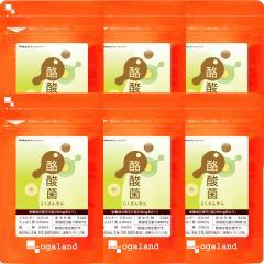 送料無料 酪酸菌(6個セット・約6ヶ月分)酪酸菌 サプリ カルボン酸 短鎖脂肪酸 有機酸 オリゴ糖 機能性アミノ酸 サプリメント